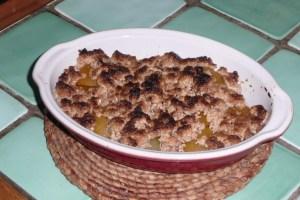 Crumble aux abricots (2)
