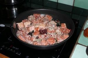 Quiche au saumon et aux orties (1)