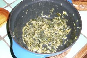 Fricassée d'orties et plantain à la courgette (2)