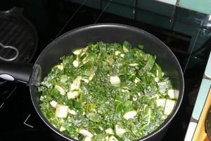 Quiche aux courgettes et au kalé (1)
