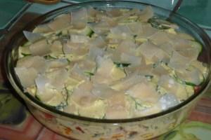 Gratin de courgettes et poivrons au tofu à l'indienne (3)