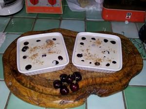 Clafoutis aux bigarreaux et au tofu soyeux (1)