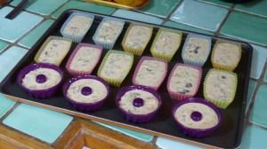 Mini cakes au thon et aux olives noires(1)