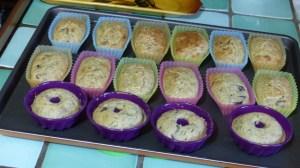 Mini cakes au thon et aux olives noires(2)