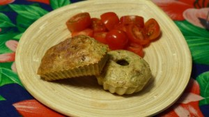 Mini cakes au thon et aux olives noires(4)