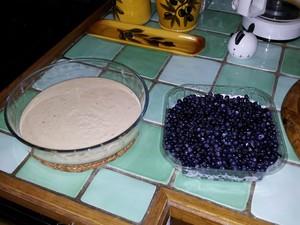 Myrtilles sauvages crème aux amandes (1)
