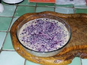 Myrtilles sauvages crème aux amandes (2)