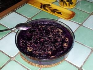 Myrtilles sauvages crème aux amandes (3)