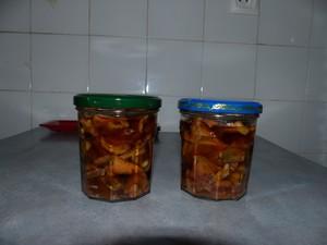 lactaires delicieux au vinaigre et à l'huile
