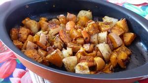 Légumes rôtis aux épices