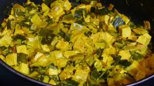 Galettes de sarrasin fourrées aux poireaux et au tofu (1)