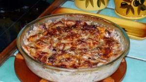Gratin de pommes de terre et patate douce(2)