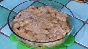 Gratin de pommes aux noisettes et purée d'amandes (2)
