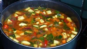 Légumes aux orties et aux flocons d'avoine (1)