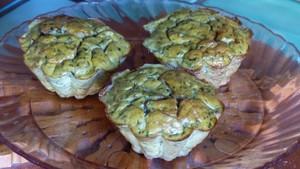 Muffins au thon et à la salicorne