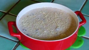 Clafoutis crémeux aux cerises et au tofu soyeux (2)