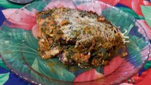 Aubergines en gratin aux orties (1)