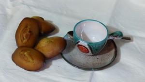 Madeleines au thé Matcha (1)
