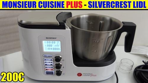 monsieur cuisine plus lidl silvercrest recette avis accessoires test notice caract ristiques. Black Bedroom Furniture Sets. Home Design Ideas