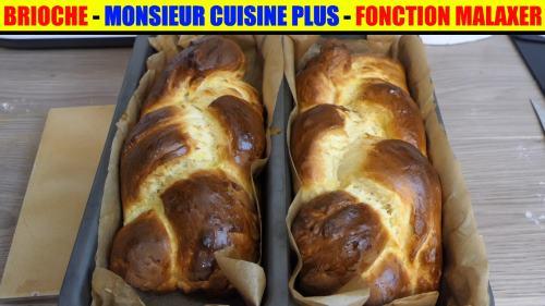 recette brioche monsieur cuisine plus lidl silvercrest skmk 1200w