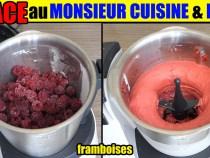 glace monsieur cuisine plus lidl silvercrest thermomix recette