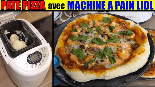 pate-pizza-machine-a-pain-lidl-silvercrest-avis-test-recette