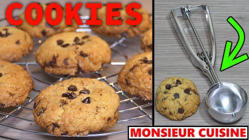 COOKIES au MONSIEUR CUISINE CONNECT (recette THERMOMIX) compatible MC PLUS