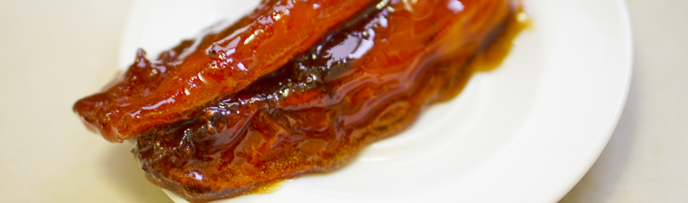 Caramelized Papaya
