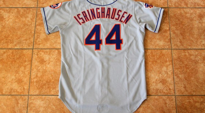 1997 New York Mets Away Jersey – Jason Isringhausen