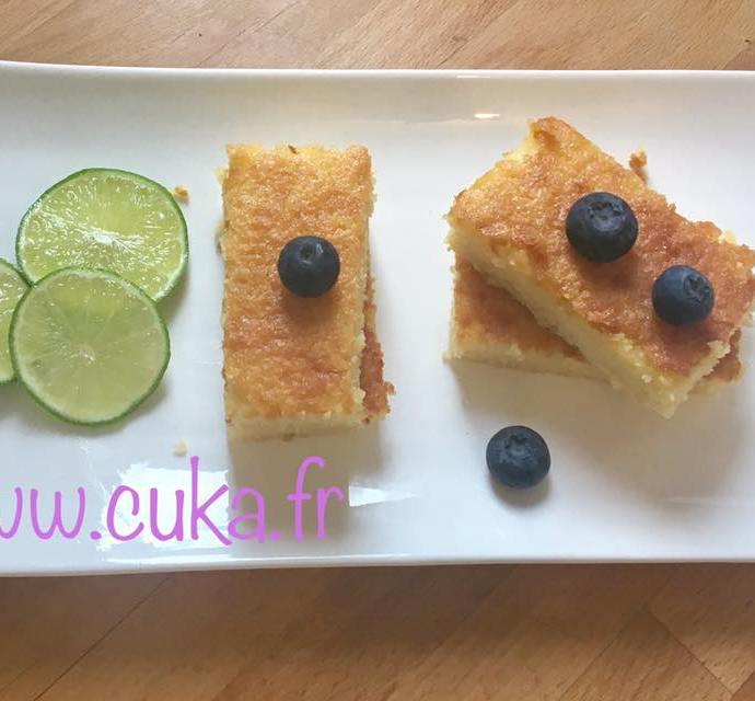 Moelleux citron amandes sans gluten