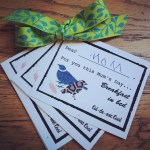 DIY Printable Mother's Day Coupon Book