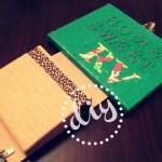 DIY Decoupage Mail/Key Holder Art