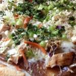 Easy Thai Chicken Pizza