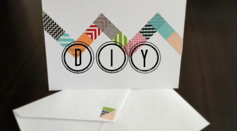 DIY Cool Note Cards