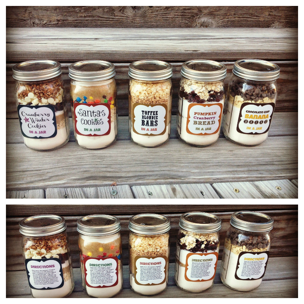 Holiday Baked Gifts In A Jar | Festive Edible Gifts To Make And Give This Season