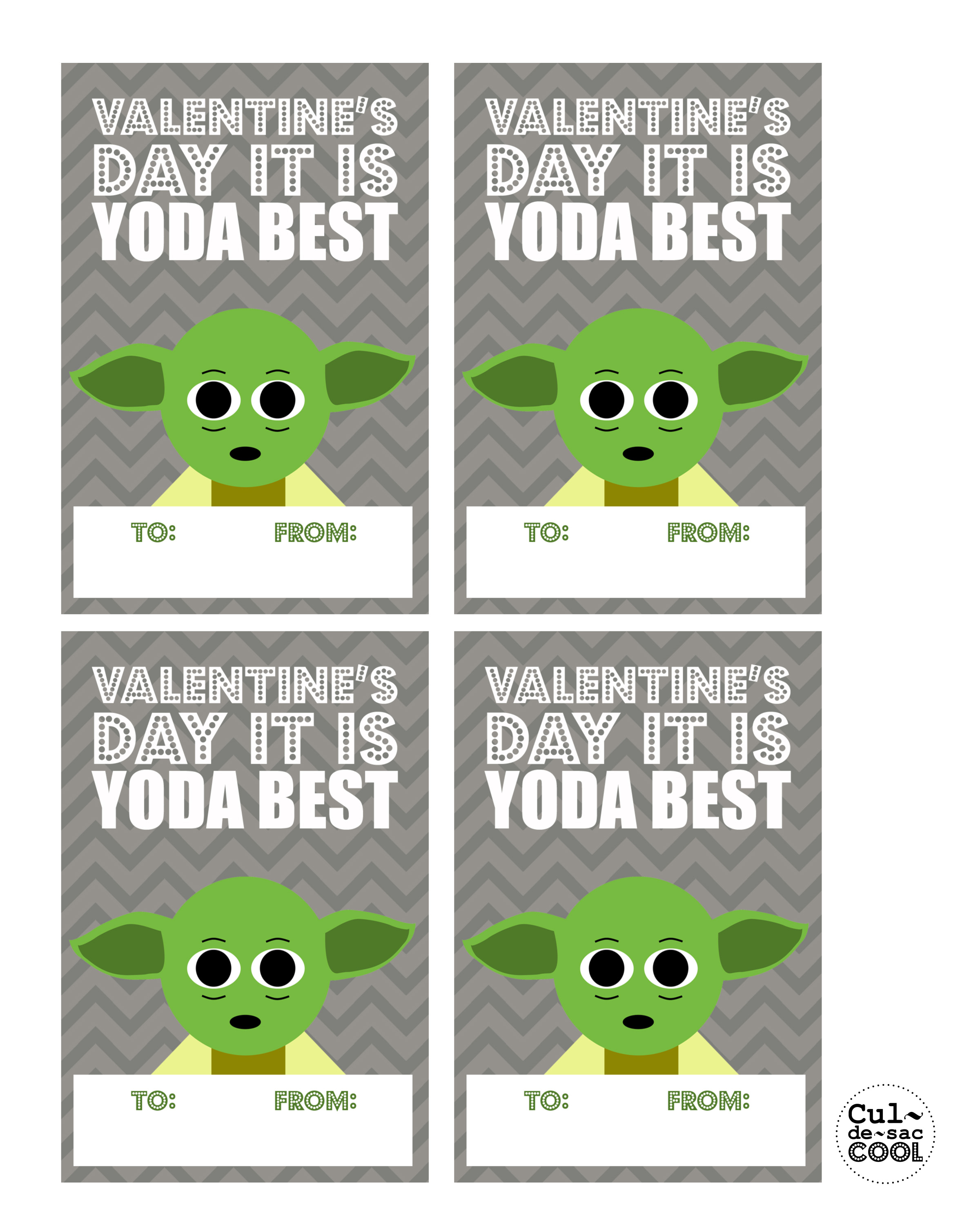 graphic about Printable Star Wars Valentines referred to as Do it yourself Printable Neat Center Wars Valentines Working day Playing cards