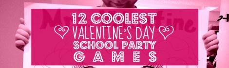 Preschool Valentines Party Games