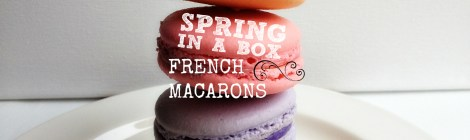 Spring in a box--French Macarons