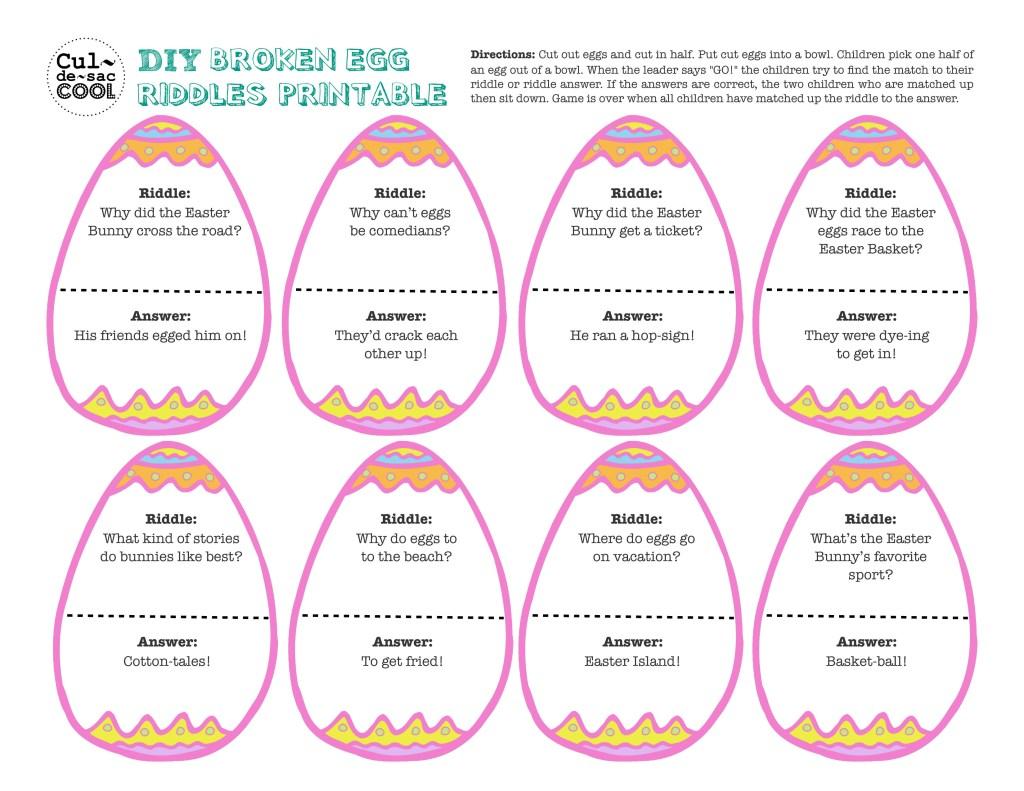 Broken Eggs Riddle
