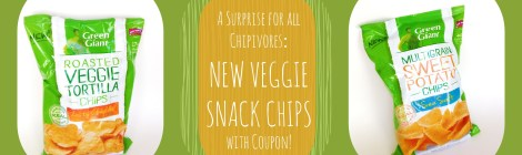 A Surprise for all Chipivores: New Veggie Snack Chips with Coupon!