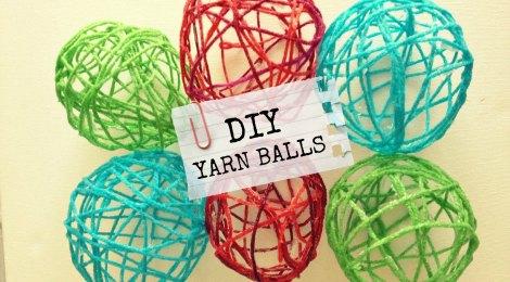DIY Yarn Balls