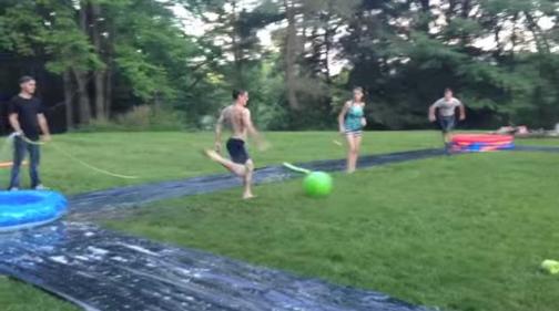 Water Kickball