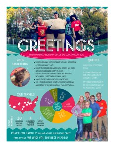 Cul-de-sac Cool Holiday Newsletter 2013