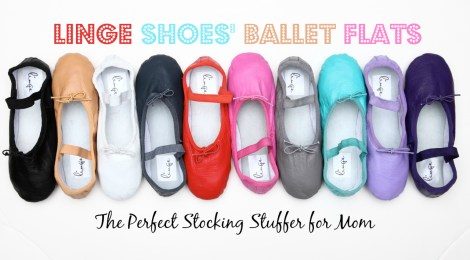 Linge Shoes' Ballet Flats -- The Perfect Stocking Stuffer for Mom