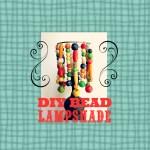 DIY Bead Lampshade