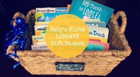 Baby's First Library Gift Basket