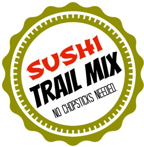 DIY Printable Trail Mix Labels - Sushi