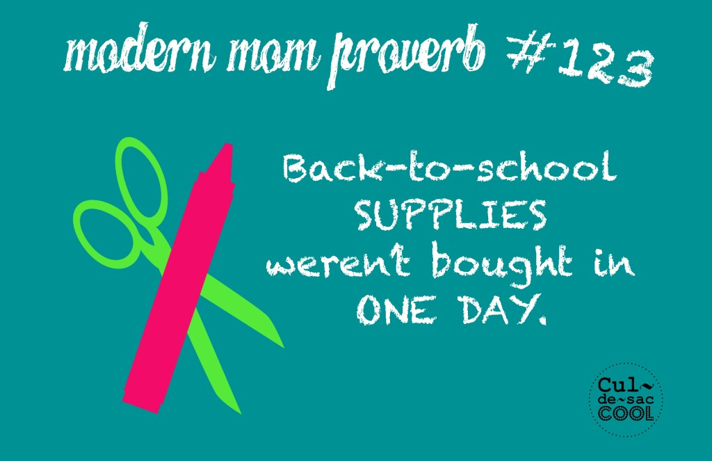 Modern Mom Proverb Back to School #123