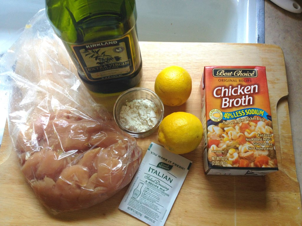 easy lemon chicken 1