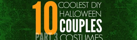 10 Coolest DIY Halloween Couples Costumes -- Part 3